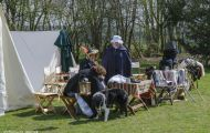 Wallonisch-Brabant, Waterloo - Reenactment 01.JPG