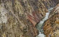 Wyoming, Northwest - Yellowstone National Park Grand Canyon of the Yellowstone 04.JPG