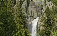 Wyoming, Northwest - Yellowstone National Park Tower Falls 01.JPG