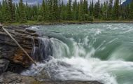 Alberta, Canadian Rockies - Icefields Parkway  Hwy 93, Athabasca Falls 04.JPG