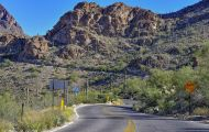 Arizona, Southeast - Tucson   Gates Pass Road 01.JPG