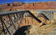 Arizona, Northcentral-Eastern - Page  Navajo Bridge 02.JPG