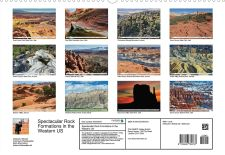 Spectacular Rock Formations in the Western US - Rückseite Kalender.JPG