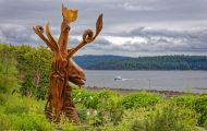 British Columbia, Vancouver Island - Campbell River Painters Lodge 01.JPG