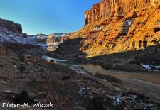 Impressionen vom Colorado River - Winterstimmung am Colorado Riverway, Moab-Utah.JPG