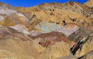 Kaliofornien, Desert - Death Valley National Park Artists Palette 11.JPG