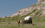 Nebraska, Panhandle - Scott's Bluff National Historic Site 01.JPG