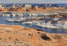 Spectacular Rock Formations in the Western US - Glen Canyon National Recreation Area, Arizona.JPG