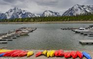 Wyoming, Northwest - Grand Teton National Park Colter Bay Marina 01.JPG
