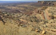 Utah, Canyon Country - Moki Dugway 02.JPG