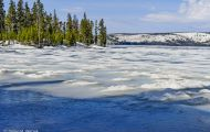 Wyoming, Northwest - Yellowstone National Park Lewis Lake & Lewis Falls 01.JPG
