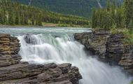 Alberta, Canadian Rockies - Icefields Parkway  Hwy 93, Athabasca Falls 02.JPG