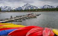 Wyoming, Northwest - Grand Teton National Park Colter Bay Marina 02.JPG